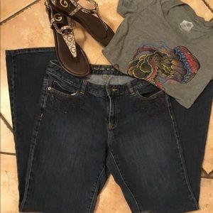 Michael Kors Embellished Pocket Jeans